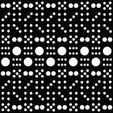 Domino Art Pattern. This is Domino Art Pattern can use for background, label and anything Stock Photos