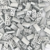 Domino background Royalty Free Stock Photo