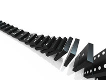 Domino blocks Royalty Free Stock Photo