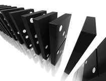 Domino blocks Royalty Free Stock Images