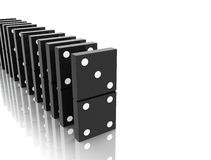 Domino blocks Stock Photo