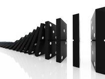 Domino blocks Royalty Free Stock Photos
