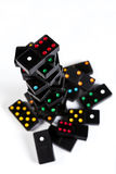 Domino rise and fall Royalty Free Stock Photo