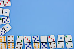 Domino Border Royalty Free Stock Photos
