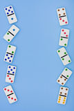 Domino Border Stock Photography