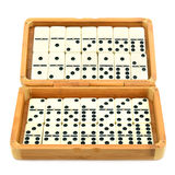 Domino in box Stock Image