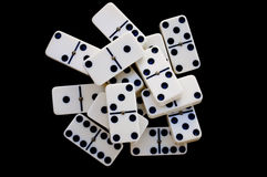 Domino bricks Royalty Free Stock Photography