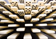 Domino bricks Royalty Free Stock Images
