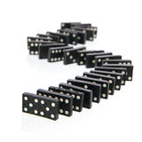 Domino cards Stock Photo