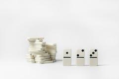 Domino 123 Royalty Free Stock Photo