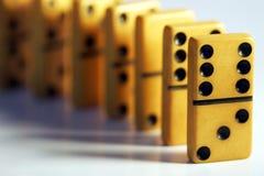 Domino dell'annata Fotografia Stock Libera da Diritti