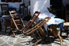 Domino della sedia Fotografia Stock