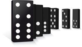 Domino diritti Immagine Stock