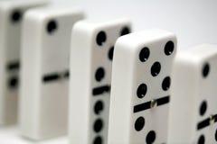 Domino/domino fotografie stock