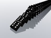 Domino effect. (see my portfolio Stock Photos