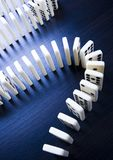 Domino effect Stock Images