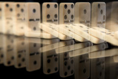 Domino effect Stock Photos