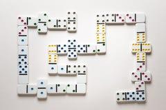 The domino effect Stock Photos