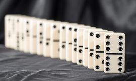 Domino Effect royalty free stock photo