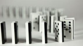 Domino-Effekt stock video footage