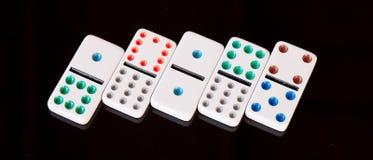 Domino-Einheit Lizenzfreie Stockfotografie