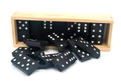 Domino en dehors de cadre Photographie stock libre de droits
