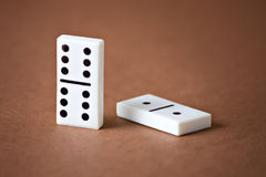 Domino entertainment play game Royalty Free Stock Photography