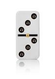 Domino för en tegelplatta Royaltyfri Fotografi