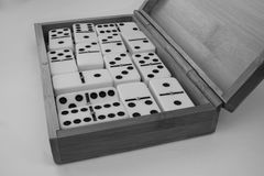 Domino figures royalty free stock images