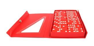 Domino fissati Fotografia Stock