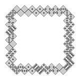 Domino frame Royalty Free Stock Image