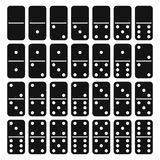 Domino full set - vector royalty free illustration