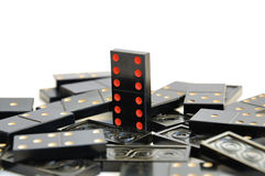 Domino-gagnant Image stock
