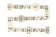 Domino game Stock Photos