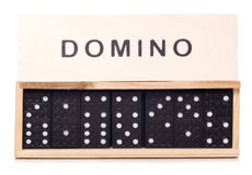 Domino game Royalty Free Stock Photos