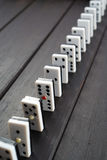 Domino game chips Stock Images