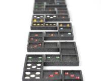 Domino Game Closeup Stock Photography