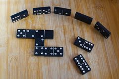 Domino game Royalty Free Stock Image