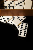 Domino Game Stock Image