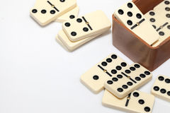 Domino Game Royalty Free Stock Photography