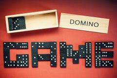 Domino Game Stock Photos