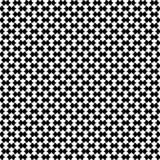 Domino-geometrisches nahtloses Muster stock abbildung