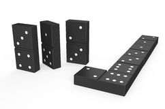 Domino 3 Stock Images