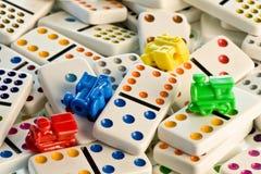 domino kolor pociągów Zdjęcia Stock