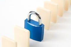 Domino and Lock Stock Photo