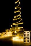 Domino magique Photos libres de droits