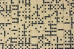 Domino-Muster Lizenzfreie Stockbilder