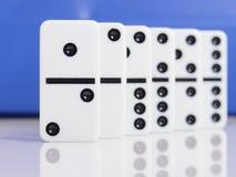 Domino numero uno Immagine Stock Libera da Diritti