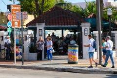 Domino park przy 8th ulicą w Mały Hawańskim, Miami obrazy royalty free
