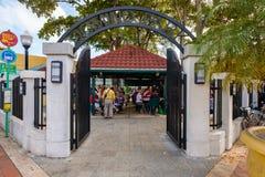 Domino Parkowy Miami Fotografia Stock
